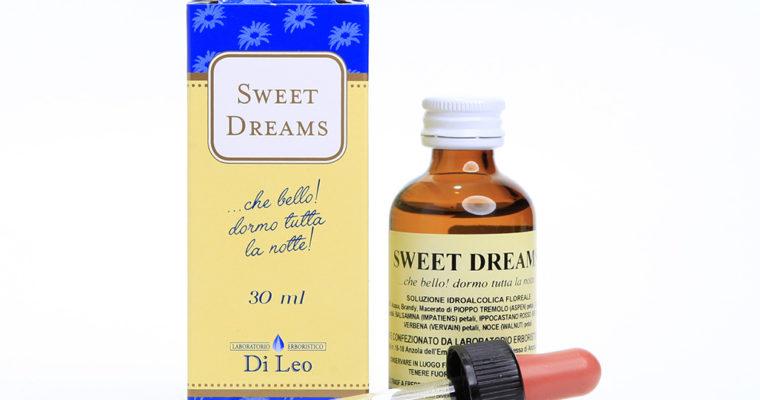 SWEET DREAMS … Che bello! Dormo tutta la notte.