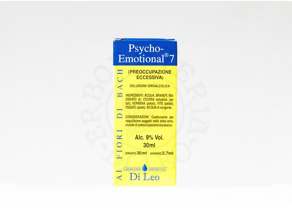 PSYCHO-EMOTIONAL 7 PREOCCUPAZIONE ECCESSIVA